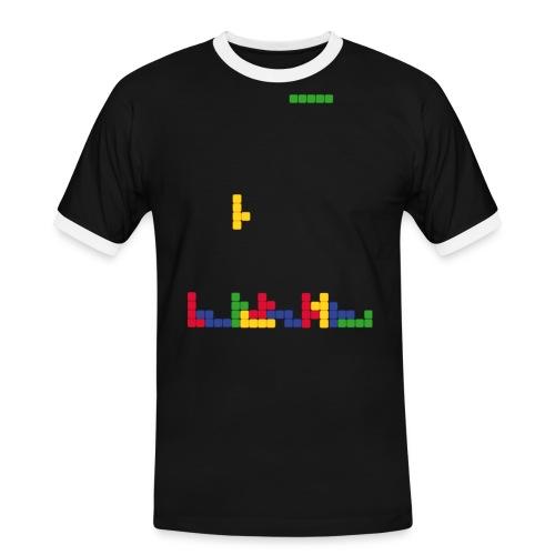 T-shirt Tetris - T-shirt contrasté Homme