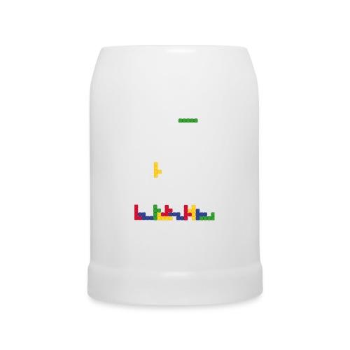 T-shirt Tetris - Chope en céramique
