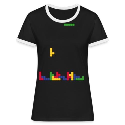 T-shirt Tetris - T-shirt contrasté Femme