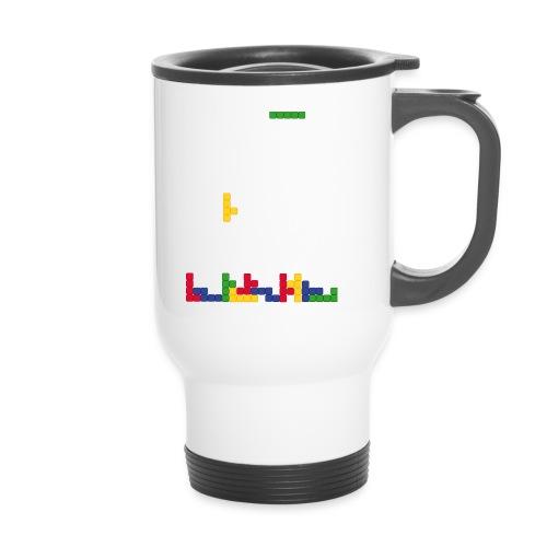 T-shirt Tetris - Mug thermos