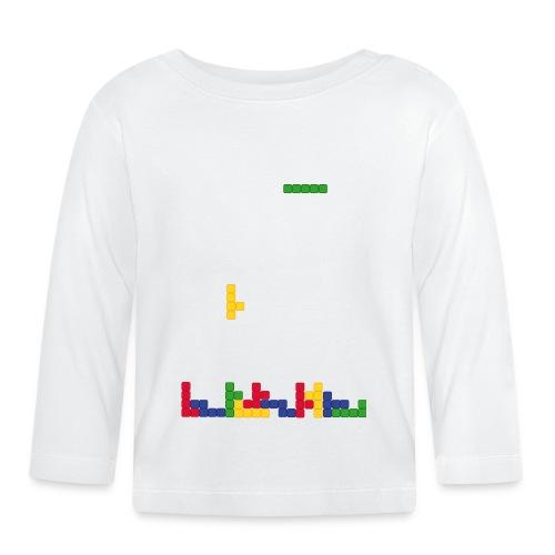 T-shirt Tetris - T-shirt manches longues Bébé
