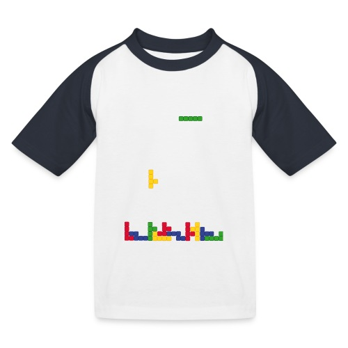 T-shirt Tetris - T-shirt baseball Enfant
