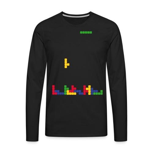 T-shirt Tetris - T-shirt manches longues Premium Homme