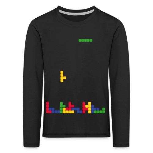 T-shirt Tetris - T-shirt manches longues Premium Enfant