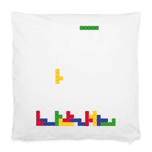 T-shirt Tetris - Housse de coussin 40 x 40 cm