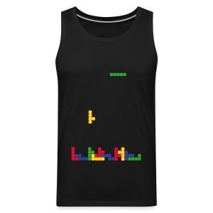 T-shirt Tetris - Débardeur Premium Homme