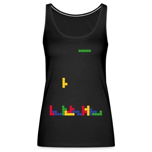 T-shirt Tetris - Débardeur Premium Femme