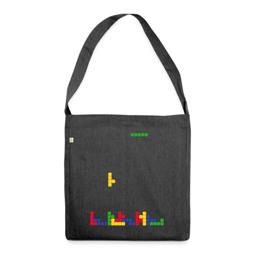 T-shirt Tetris - Sac bandoulière 100 % recyclé