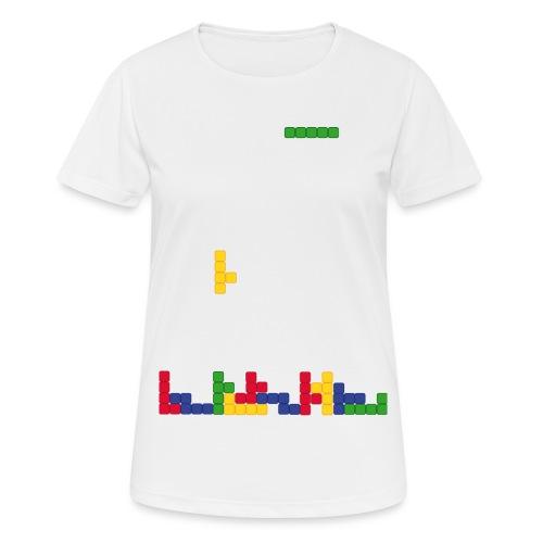 T-shirt Tetris - T-shirt respirant Femme