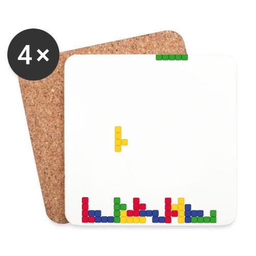T-shirt Tetris - Dessous de verre (lot de 4)
