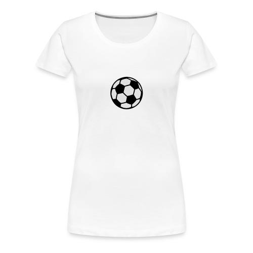 Casquet foot - T-shirt Premium Femme