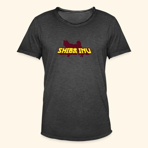 Shiba Inu, Mütze - Männer Vintage T-Shirt