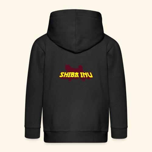 Shiba Inu, Mütze - Kinder Premium Kapuzenjacke