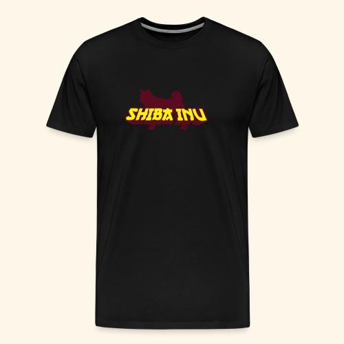 Shiba Inu, Mütze - Männer Premium T-Shirt