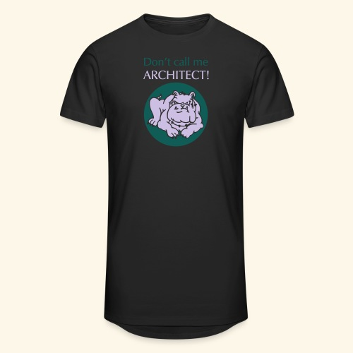 Don't call me architect!, Bulldog, bicolor - Männer Urban Longshirt