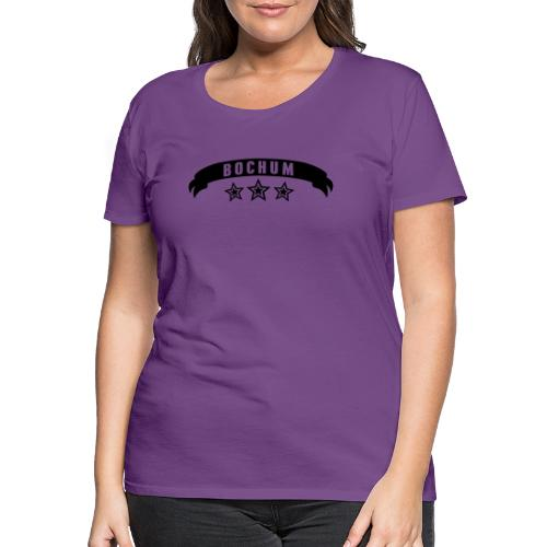 BOCHUM Banderole - Frauen Kapuzenpulli - Frauen Premium T-Shirt