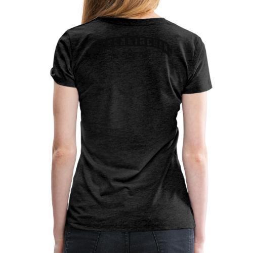Gelsenkirchen Banderole - Frauen Kapuzenpulli - Frauen Premium T-Shirt