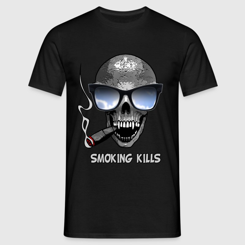smoking kills - Camiseta hombre