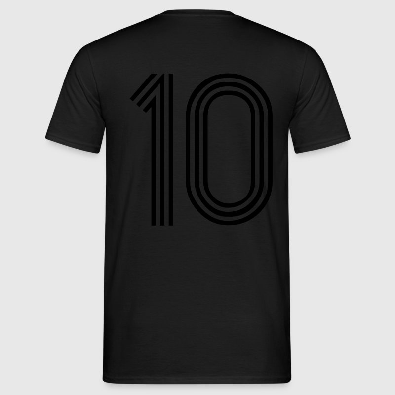 10, best football, fußball, football, soccer, sports, Zahlen, Ziffern, Numbers, Rennen, Race, www.eushirt.com - Men's T-Shirt