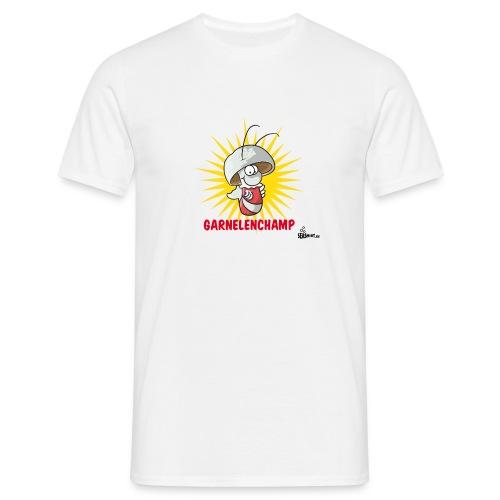 Garnelenchamp Kaffeepott - Männer T-Shirt