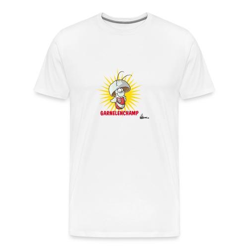 Garnelenchamp Kaffeepott - Männer Premium T-Shirt