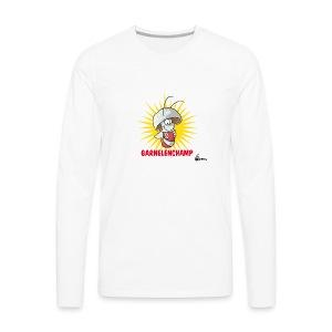 Garnelenchamp Kaffeepott - Männer Premium Langarmshirt