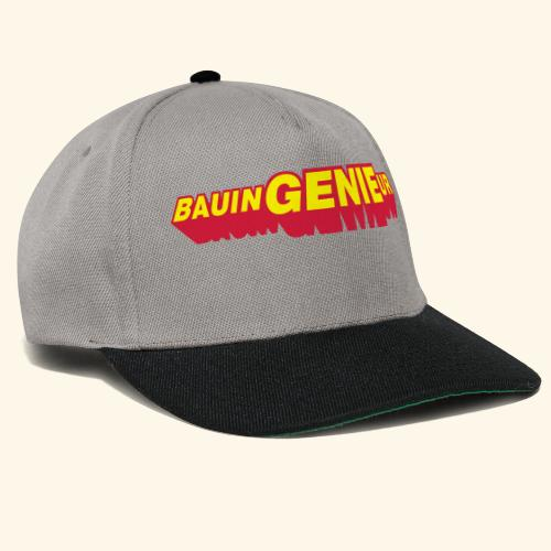 BauinGENIEur, Kaffeebecher - Snapback Cap