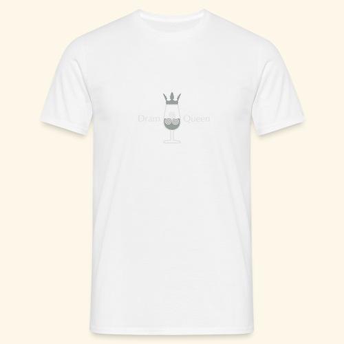 Dram Queen, Button - Männer T-Shirt