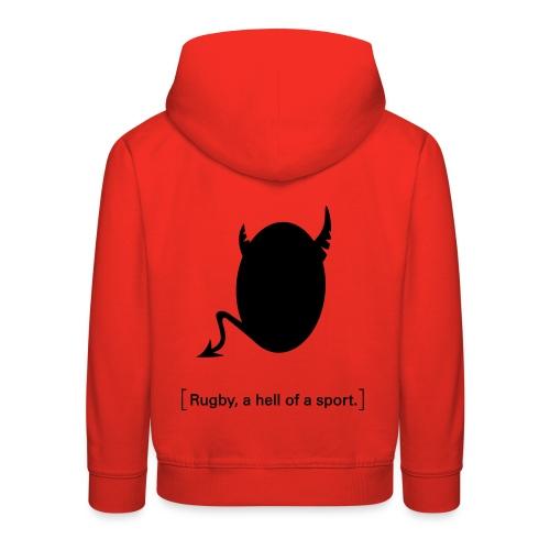 Männer T-Shirt Motiv: A hell of a sport! - Kinder Premium Hoodie