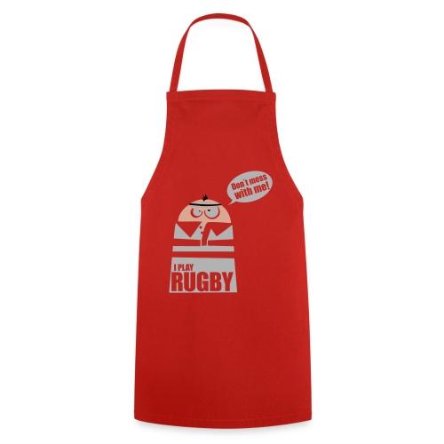 Männer T-Shirt Motiv: I play Rugby - Kochschürze