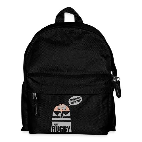 Männer T-Shirt Motiv: I play Rugby - Kinder Rucksack