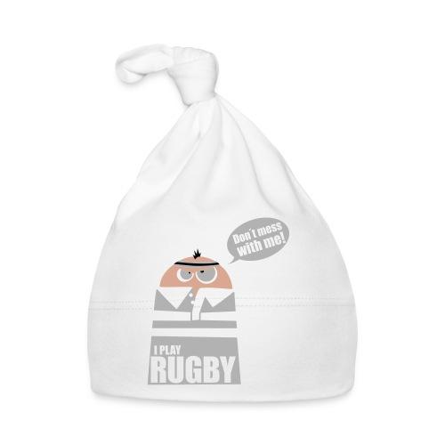 Männer T-Shirt Motiv: I play Rugby - Baby Mütze