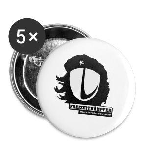 Männer T-Shirt Motiv: Freizeitkämpfer - Buttons klein 25 mm