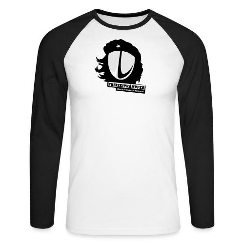 Männer T-Shirt Motiv: Freizeitkämpfer - Männer Baseballshirt langarm