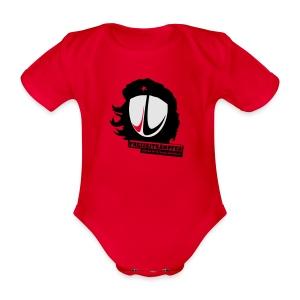 Männer T-Shirt Motiv: Freizeitkämpfer - Baby Bio-Kurzarm-Body