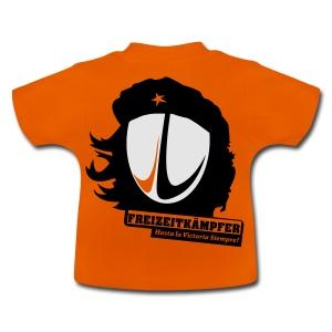 Männer T-Shirt Motiv: Freizeitkämpfer - Baby T-Shirt