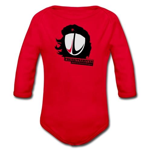Männer T-Shirt Motiv: Freizeitkämpfer - Baby Bio-Langarm-Body