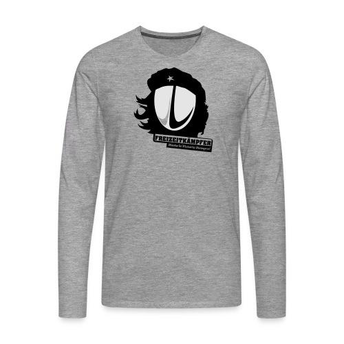 Männer T-Shirt Motiv: Freizeitkämpfer - Männer Premium Langarmshirt