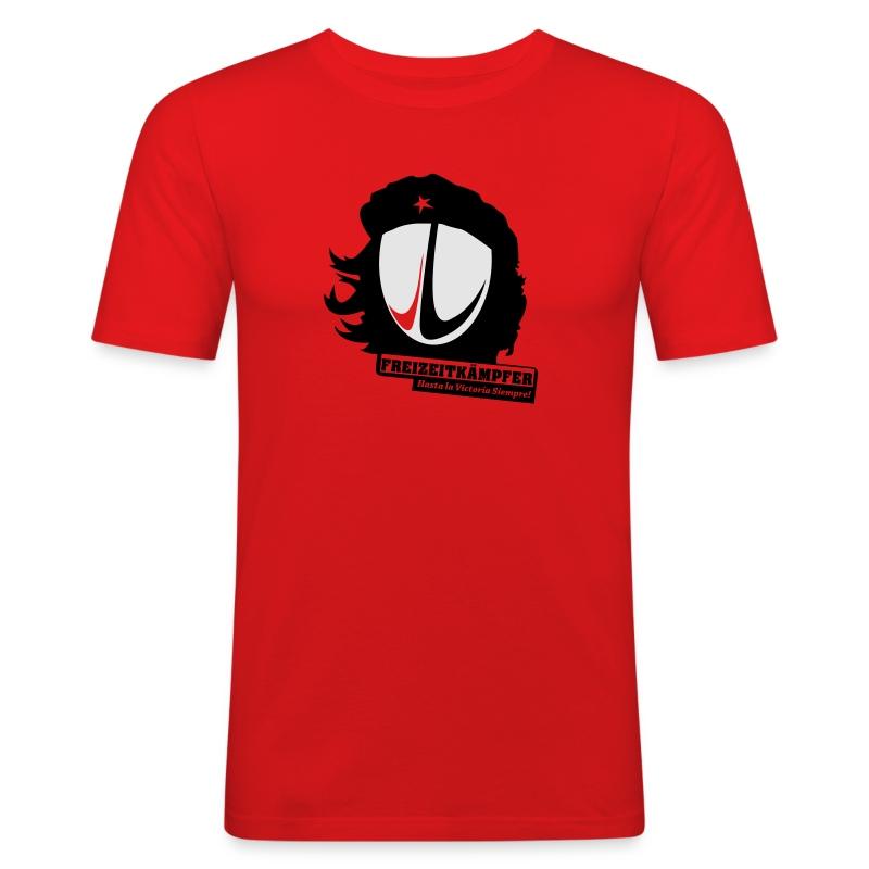 Männer T-Shirt Motiv: Freizeitkämpfer - Männer Slim Fit T-Shirt