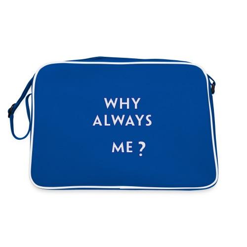 Balottelli - Why Always Me - Italia Retro T - Retro Bag
