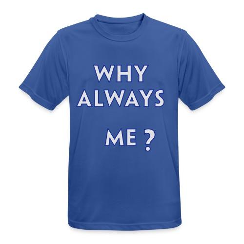 Balottelli - Why Always Me - Italia Retro T - Men's Breathable T-Shirt