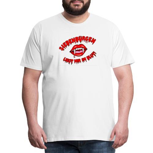 Siebenbürgen - liegt mir im Blut. Schickes Shirt für echte Transylvanier!  - Männer Premium T-Shirt