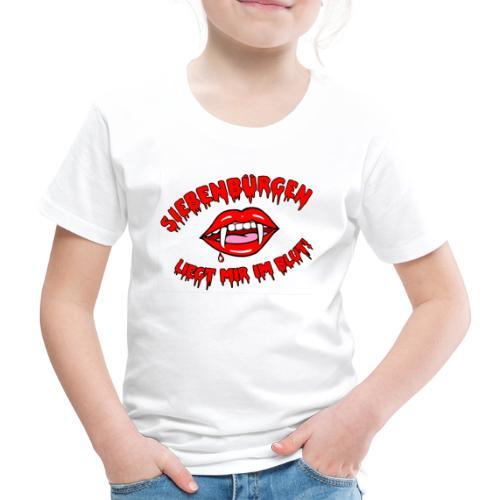 Siebenbürgen - liegt mir im Blut. Schickes Shirt für echte Transylvanier!  - Kinder Premium T-Shirt