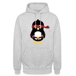Pingouin Raphaelo - Sweat-shirt à capuche unisexe