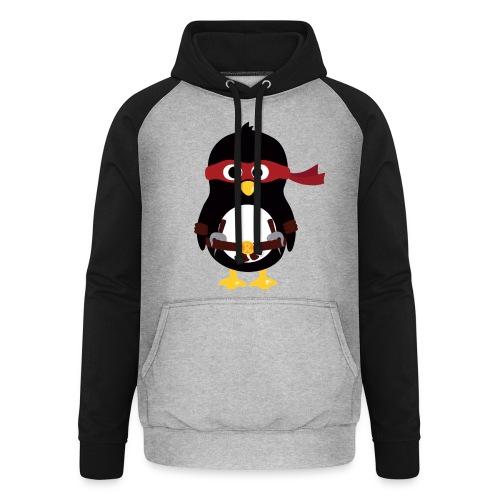 Pingouin Raphaelo - Sweat-shirt baseball unisexe