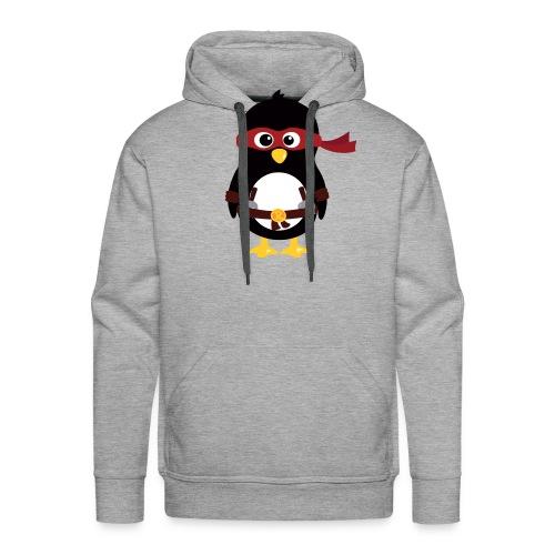 Pingouin Raphaelo - Sweat-shirt à capuche Premium pour hommes