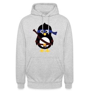 Pingouin Leonardo - Sweat-shirt à capuche unisexe