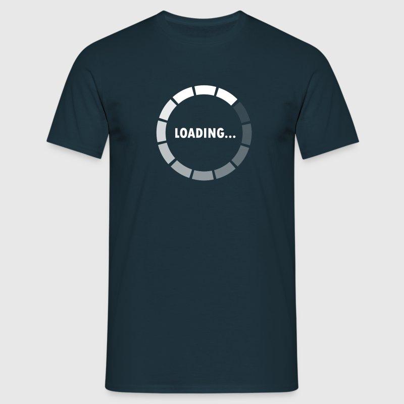 Ajax Loader - loading - waiting T-shirts - Herre-T-shirt
