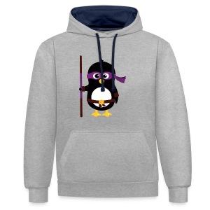 Pingouin Donatello - Sweat-shirt contraste
