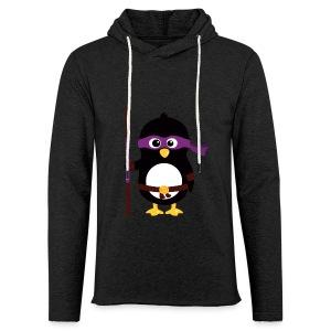 Pingouin Donatello - Sweat-shirt à capuche léger unisexe